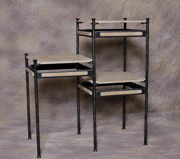 mobilier en fer forg cheval de feu. Black Bedroom Furniture Sets. Home Design Ideas